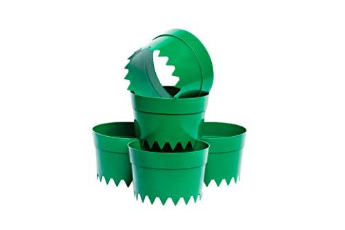 UPP ERD-Bewässerungsringe | Wassersparen durch gezielte Gartenbewässerung | Optimale Blumen Bewässerung durch Pflanzringe | Lassen Sie Ihre Pflanzen von unserer Gießhilfe profitieren! [5 STK.]