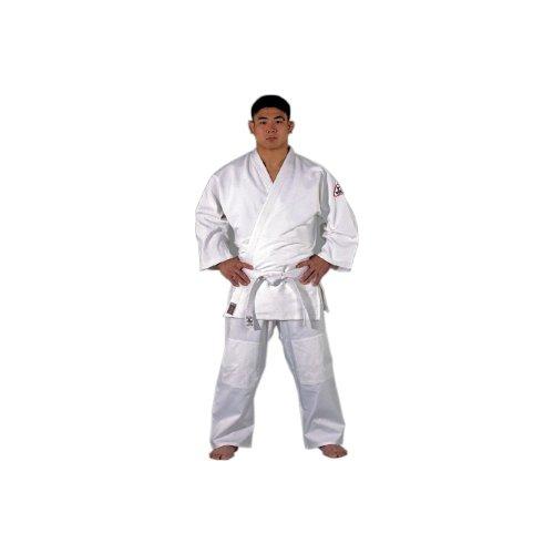 DanRho Judoanzug Dojo-Line Tong Il, Größe:150 cm;Farbe:Weiß