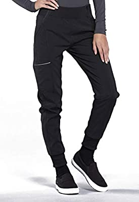 CHEROKEE Infinity Mid Rise Jogger, CK110A, L, Black