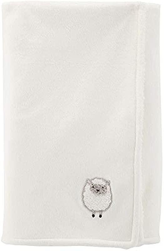 Carter S Cozy Cream Lamb Baby Blanket 40 X 30 In