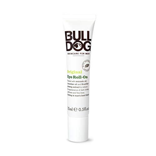 BULLDOG SECURITY Bulldog Cuidado Facial para Hombres Roll-on Corrector Ojeras Hombre Original, Cuidado de Rostro Antiedad, Blanco, 15 Mililitro