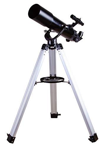 Telescopio Rifrattore Levenhuk Skyline BASE 80T da 80 mm per Osservare la Luna e i Pianeti del Sistema Solare