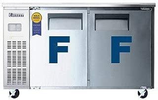 Everest ETF2 Two Door Under Counter Freezer, 47.5L x 31.5W