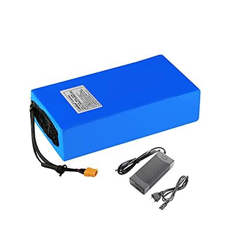SGSG Paquete de baterías 48V 30Ah 25Ah 20Ah 15Ah 12Ah Batería de Litio para Bicicleta eléctrica con Cargador 2Ah para 350W 450W 750W 500W 800W 1000W Motor de Bicicleta eléctrica