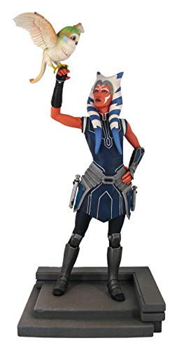 Gentle Giant Star Wars Premier Collection: Ahsoka Clone Wars 1:7 Scale Statue, Mulitcolor, 11 inches