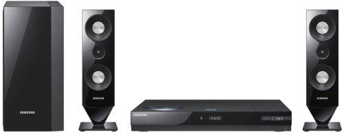 Samsung HT-C68003D Blu Ray Heimkinosystem (Upscaler 1080p, 500 Watt RMS, iPod-Anschluss, WLAN, USB 2.0) schwarz
