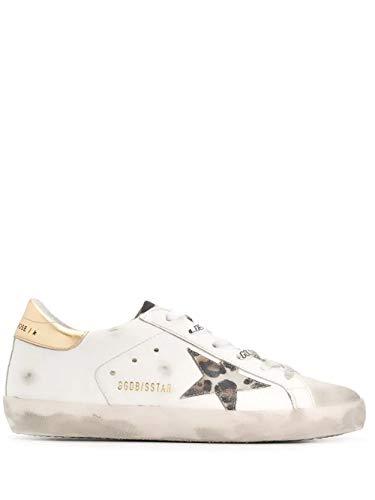 Moda De Lujo | Golden Goose Mujer G36Ws590V77 Blanco Cuero Zapatillas | Otoño-Invierno 20