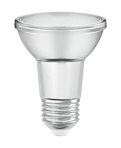 OSRAM Dimmbare PAR20 LED Reflektorlampe mit E27 Sockel, Warmweiss (2700K), Glas Spot, 5W, Ersatz für 50W-Reflektorlampe, LED SUPERSTAR PAR20 , 10er-Pack
