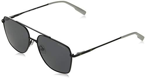 Hackett Bespoke zonnebril heren London zonnebril, mat zwart, 55/15-145