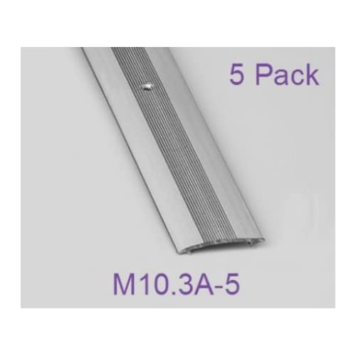 Aluminium Door Bar - Carpet Cover Strip - L 900 x W 37mm - Silver -