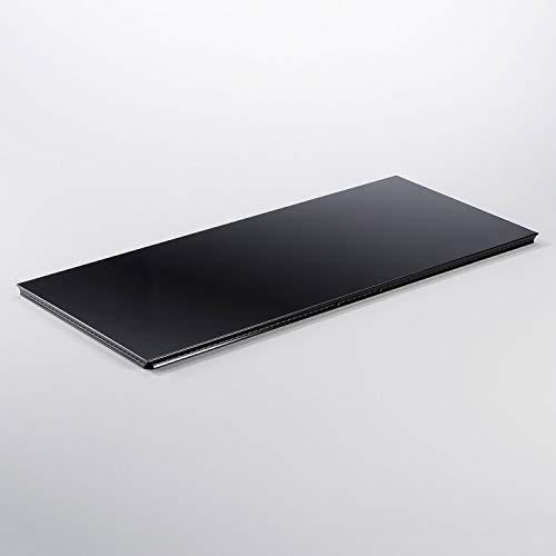 Preisvergleich Produktbild Swissmobilia Außentablar für USM Haller RAL 9011 Graphitschwarz,  Metallelement,  Systemmaß:750x350