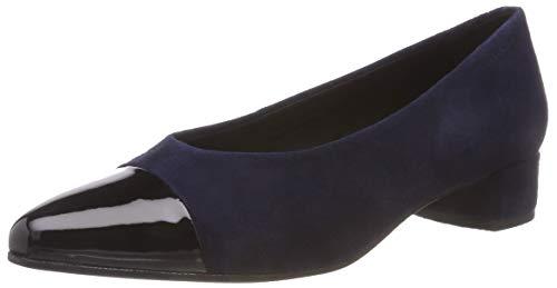 Vagabond Damen Alicia Pumps, Blau (Dark Blue/Black 95), 37 EU