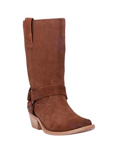 """Dingo Fashion Boots Womens 10"""" Shaft 9.5 M Whiskey DI151"""