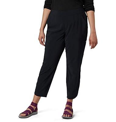 Columbia Women's Plus Size Back Beauty Highrise Legging, Black, 1X