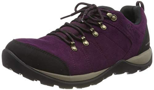 Columbia FIRE VENTURE S II Zapatos de senderismo impermeables para mujer, Negro(Black...