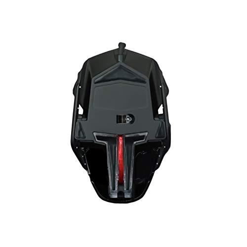 Mad Catz R.A.T. 2+ - Ratón (mano derecha, Óptico, USB, 5000 DPI, 5000 pps, Negro)