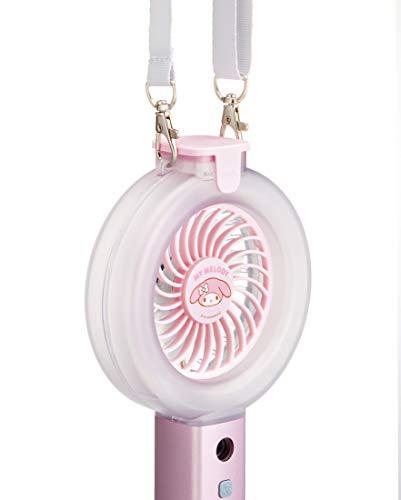 スケーターUSB充電式ハンディミストファン携帯扇風機マイメロディサンリオHMF110.8×20.75×3.7cm