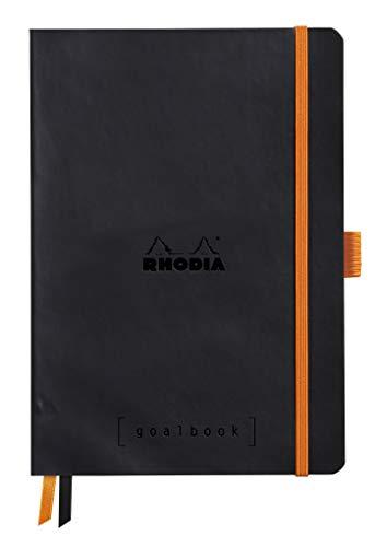 Rhodia Goalbook Journal, A5, Dotted - Black