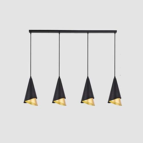 Towyoy Nuevo Restaurante Nórdico Iron Chandelier 3 Moderno Minimalista Luz Lámparas de Lujo Creativa Personalidad Bar Restaurante Café Bar Chandelier Comedor Comedor Lámpara de mesa Decoración interio