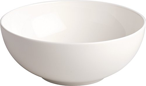 Alessi'All-Time' Bowls in Bone China (Set of 4), White