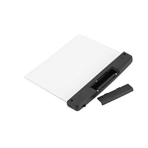 Tragbare ultradünne flache Platte Panel Leselampe Studenten Nachtsicht Licht Augenschutz Batterie Kunststoff Buch Licht Lampe Kaemma