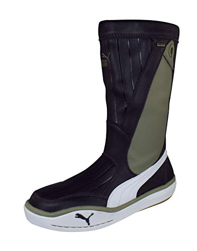 PUMA Luff Gore-Tex Mens Performance Segeln Lederstiefel-Brown-38