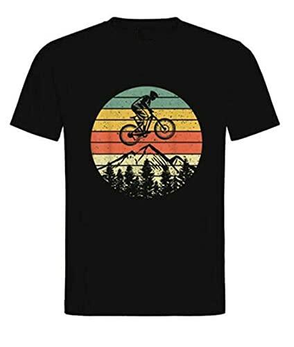 MAFUL T-Shirt Herren -MTB Mountain Bike BMX Rennrad Fahrrad Mountainbike Geschenk