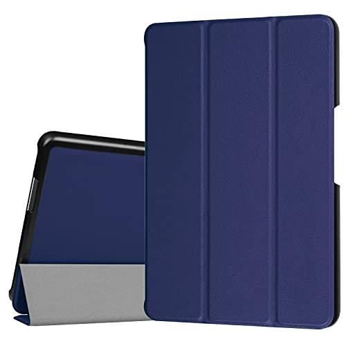 Tablet PC Bolsas Bandolera For asus zenpad Z8 (ZT581KL) / Zenpad 3 8.0 Z58KL Stand trifold de la caja de la tableta ligera ORDENADOR PERSONAL Cubierta de espalda dura con tríptico y despertar automáti