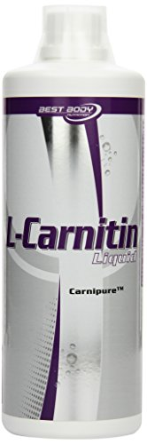 Best Body Nutrition L-Carnitin Liquid mit Carnipure, Limette, 1er Pack (1 x 1000ml)