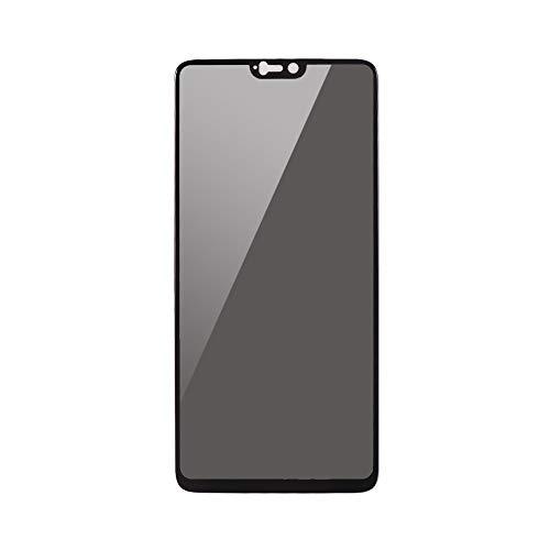 Peeping Privacy, 2,5 D, gekromde geharde glasfolie, ultradun, hoge transparant, anti-vuil-splinterbestendig, anti-krasbescherming, telefoonbescherming, vervanging voor Oneplus 6, 3, transparant