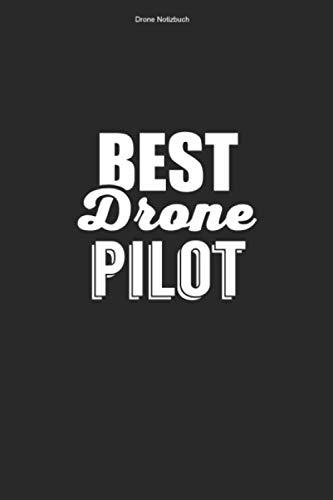 Drone Notizbuch: 100 Seiten | Punkteraster | FPV Flug Rennen Fan Quadrocopter Pilot Fliegen Dronenpilot Team Drone Lustig Hobby Dronenrennen Geschenk Dronen Quadcopter