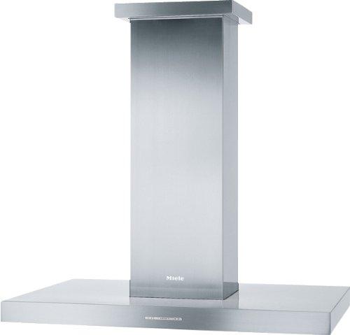 Miele DA 410-4 Inselhaube / Breite: 90 cm / Edelstahl / Spülmaschinengeeignete Edelstahl-Metall-Fettfilter / Renigungsfreundliches CleanCover