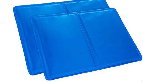 KEPLIN 2 Almohadas de Gel de refrigeración Grandes – Mejora el sueño, la Gripe y Las fiebres, Dolores de Cabeza de migraña.