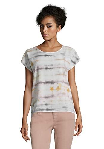 Cartoon Damen 2079/7331 T-Shirt, Cream/Khaki, 36