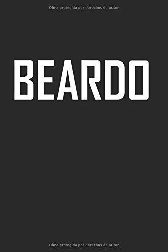 Beardo: Bloc de notas barba hipster regalo