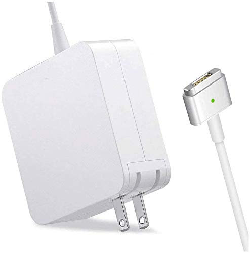 Mac Book Pro Charger, 60W T-Tip Magsafe 2 Replacement, Power Adapter Compatible with Mac Book Charger/Mac Book air (Made After Late 2012)