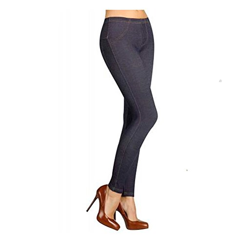 YSABEL MORA - Legging Termal Mujer Color: Marino Jeans