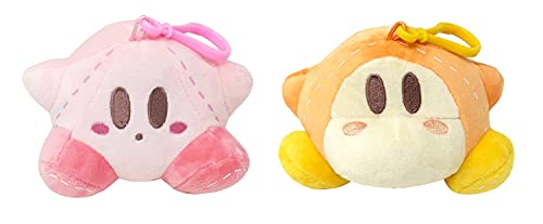 Kirby and Waddle Dee Dangler Plush Toy
