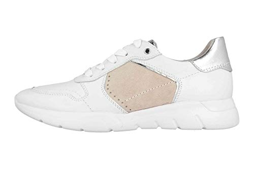 Jana Sneaker in Übergrößen Weiß 8-8-23729-24 191 große Damenschuhe, Größe:44