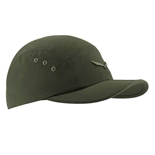 Salewa Fanes Sun Protect Fold Visor Cap Grün, Cap, Größe 60 - Farbe Kombu Green