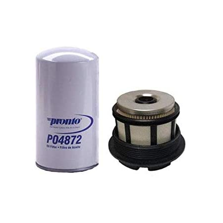 Amazon Com Powerstroke Diesel Fuel Filter Water Separator New 2pc For Ford F250 7 3l 94 98 Automotive