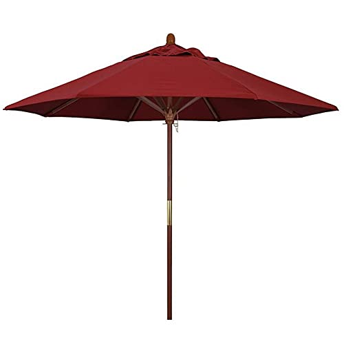 Riyyow Paraguas Paraguas Paraguas Paraguas de Madera, Liviana Cubierta Protectora Liviana con Viento Ven, Resistente a la decoloración y Dura Prolongada Paraguas de Playa al Aire Libre