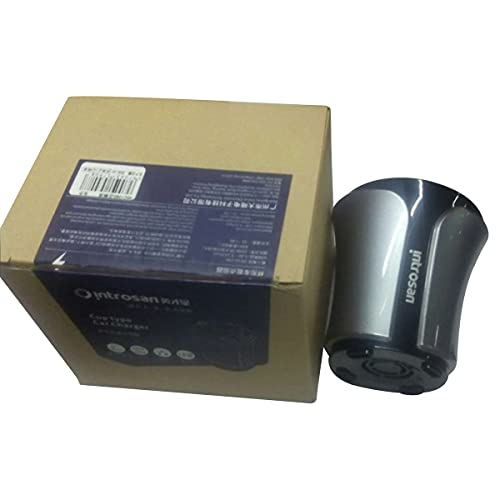 healthwen Encendedor de Cigarrillos de Coche multifunción 12-24V 100W + 40W Carga USB Dual para teléfono móvil Tablet PC Probador de Voltaje de batería HSC108D