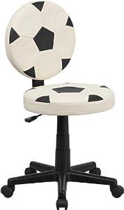 Flash Furniture Soccer Swivel Task Office Chair, BIFMA Certified