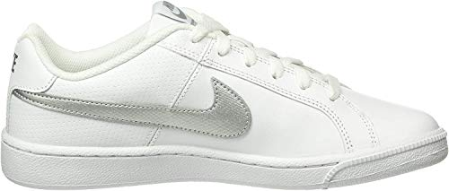 Nike Damen Court Royale Tennisschuhe, Weiß (White/Metallic Silver), 36 EU