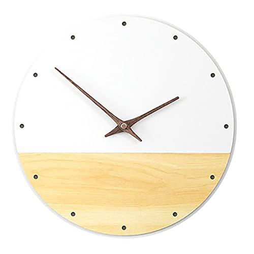 Reloj de pared europeo pastoral japonés reloj de pared sala de estar relojes moderno Guess mujeres estudio silencio reloj cuarzo digital