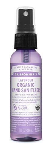 Dr. Bronner's Hand Sanitizer - Lavender - 2 Oz