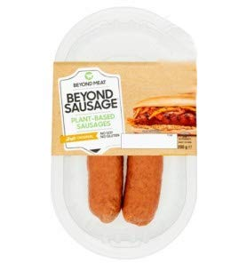Beyond Meat Salchichas x 2 unidades | 100% Vegetal | Plant Based | Sin Gluten | Sin Soja | Vegano | (200g)