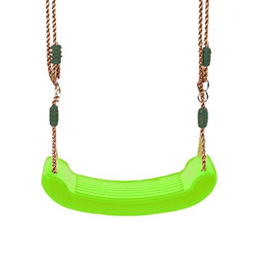 DSFSAEG Asiento de jardín para niños con cuerdas ajustables, ideal para columpios y marcos de escalada
