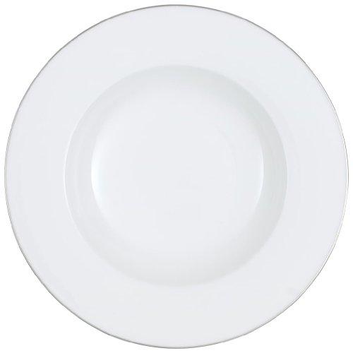 Villeroy & Boch 10-4636-2700 Assiette Plate Porcelaine Blanc 25,1 x 25,1 x 9,8 cm Convient pour 1 Personne